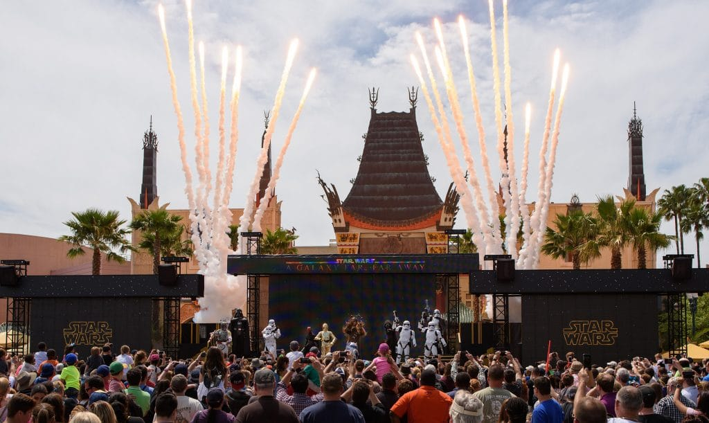 Star Wars: A Galaxy Far, Far Away stage show at Disney's Hollywood Studios