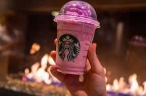Pink Flamingo Frappuccino at Disney Springs Starbucks