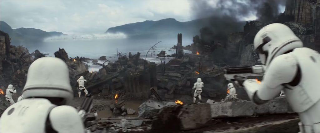 Battle of Takodana from Star Wars: The Force Awakens