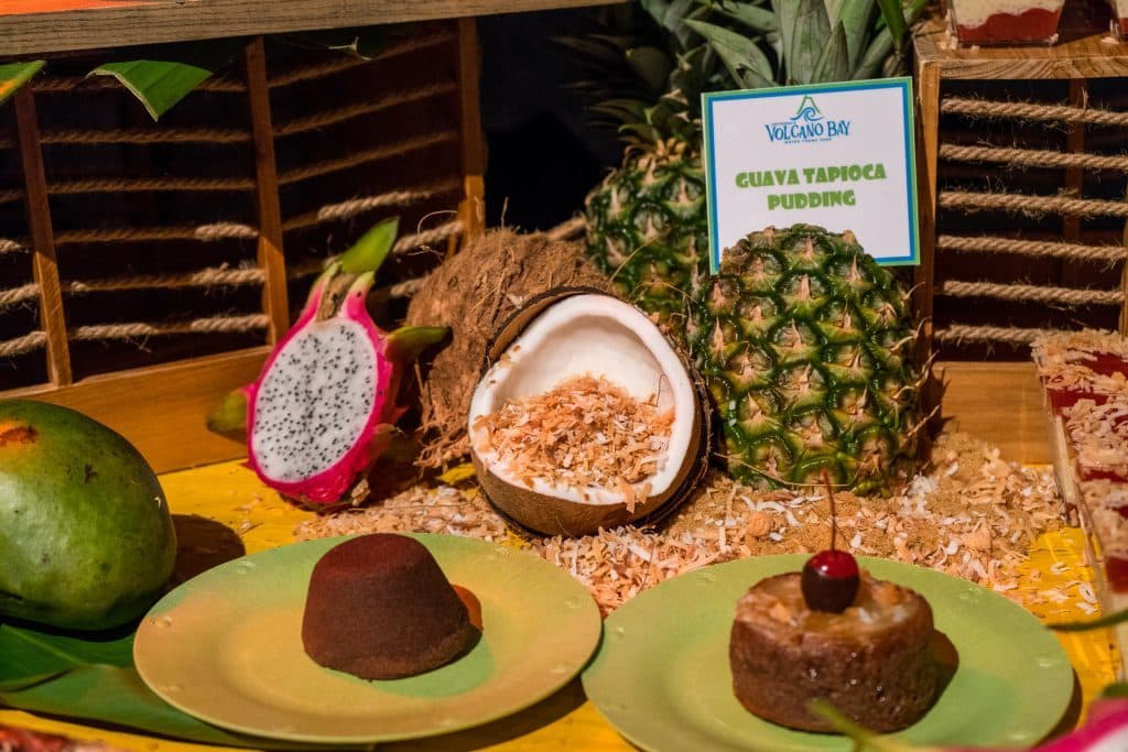 Chocolate Lava Cake at Universal's Volcano Bay