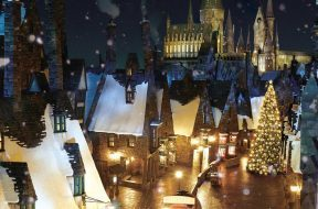 Christmas at The Wizarding World of Harry Potter in Japan