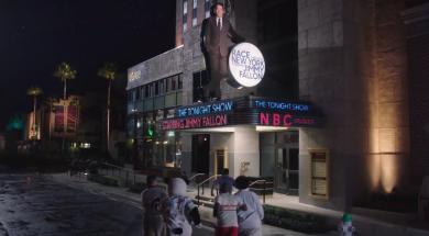 Jimmy Fallon & his crew arrive at Universal Orlando Resort