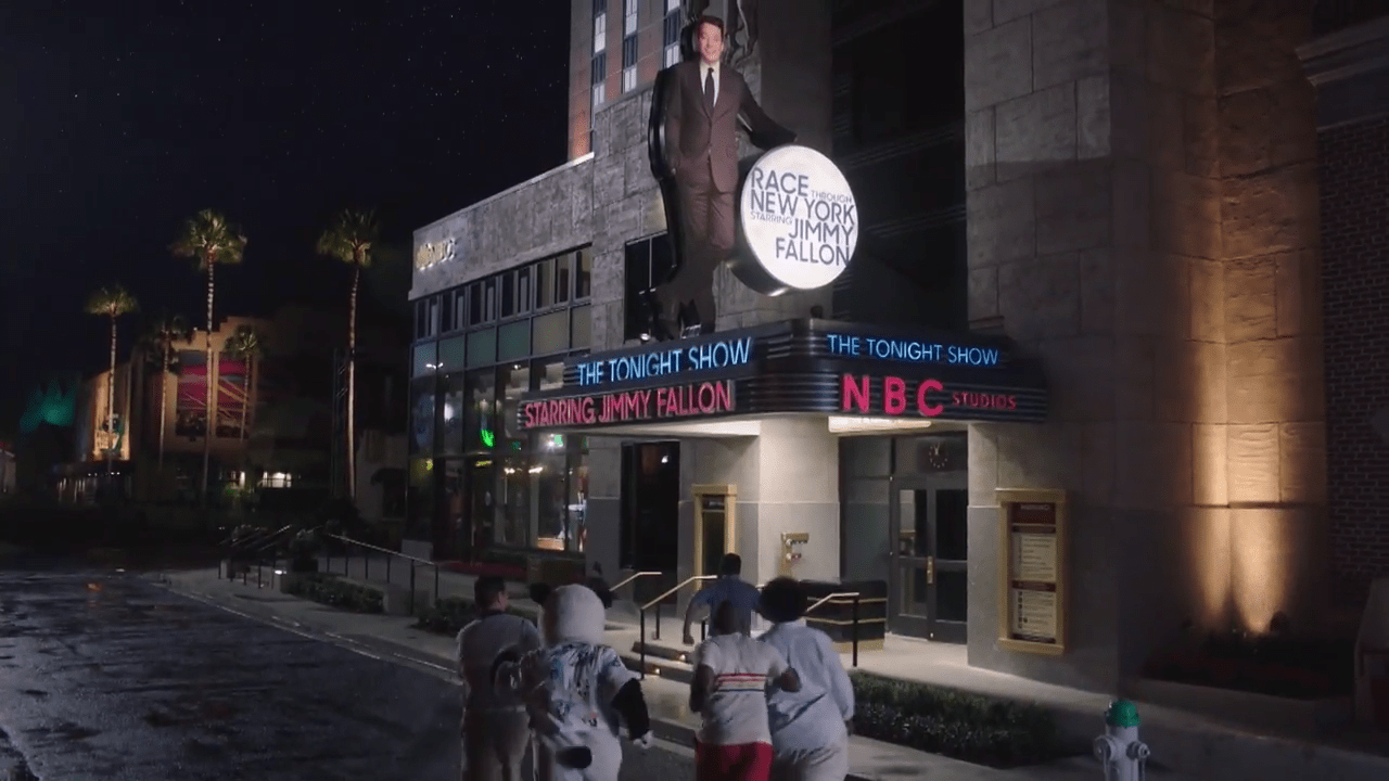 Jimmy Fallon and crew race to Orlando in Tonight Show kickoff video