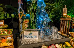 Food spread at Universal's Volcano Bay