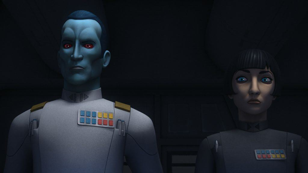 "Grand Admiral Thrawn in ""Star Wars: Rebels"""