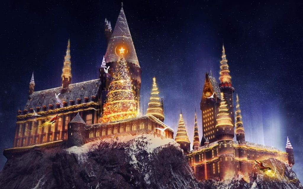 The Magic of Christmas at Hogwarts at Islands of Adventure