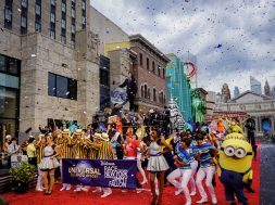 Race through New York Starring Jimmy Fallon grand opening at Universal Studios Florida