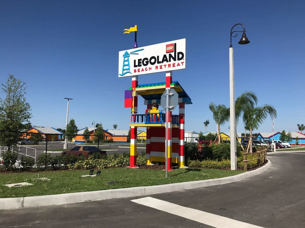 LEGOLAND Florida Beach Retreat entrance