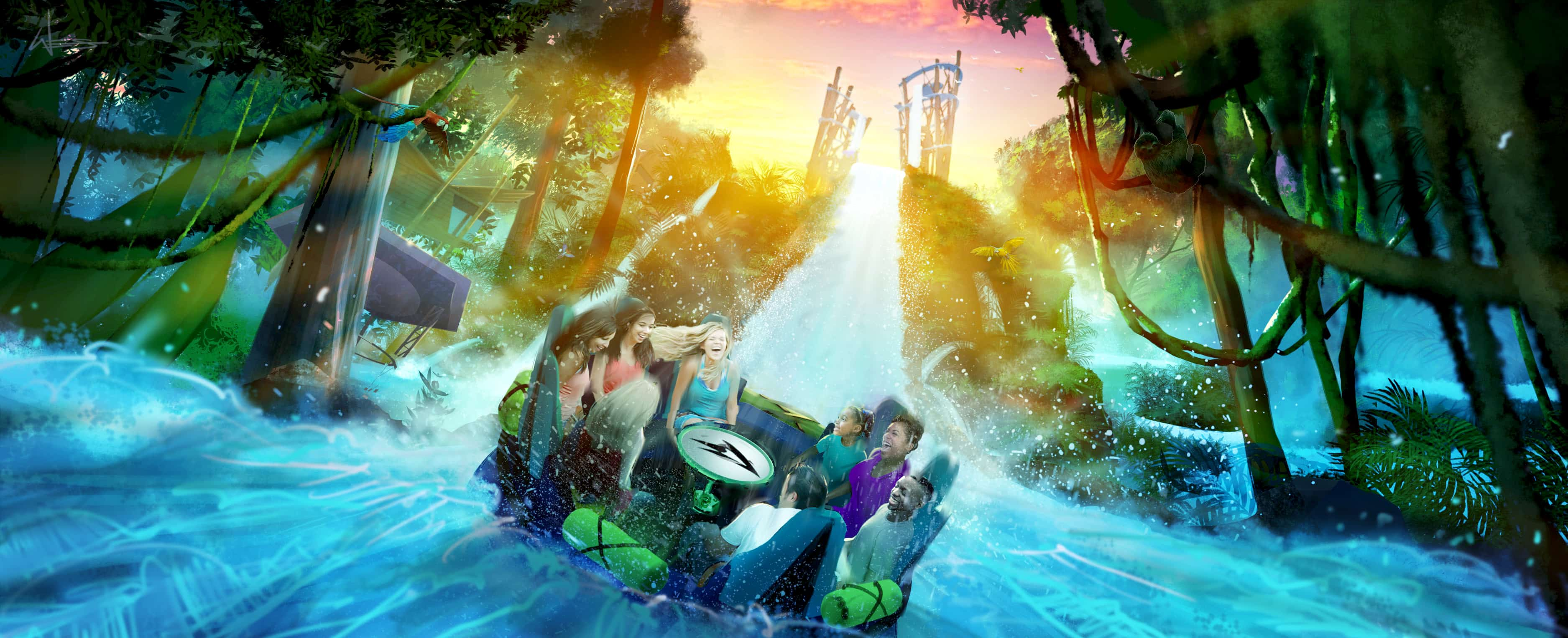 SeaWorld announces a revolutionary new water ride