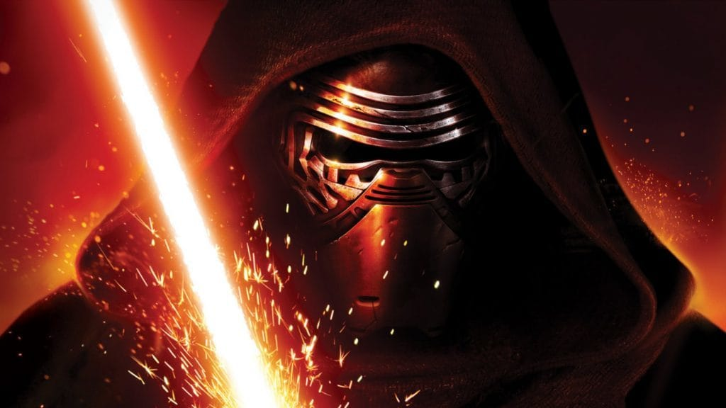 "Kylo Ren from ""Star Wars: Episode VII - The Force Awakens"""