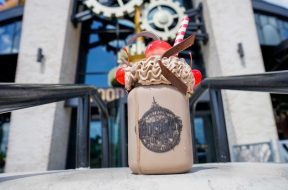 Penelope's Birthday Shake at Universal's Toothsome Chocolate Emporium 1
