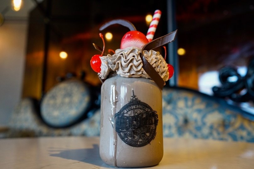 Penelope's Birthday Shake at Universal's Toothsome Chocolate Emporium 2