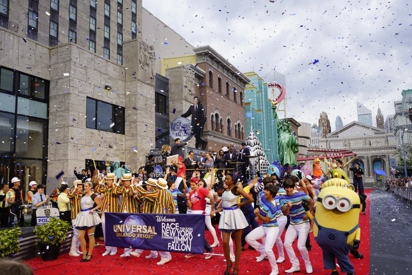 Race through New York's grand opening