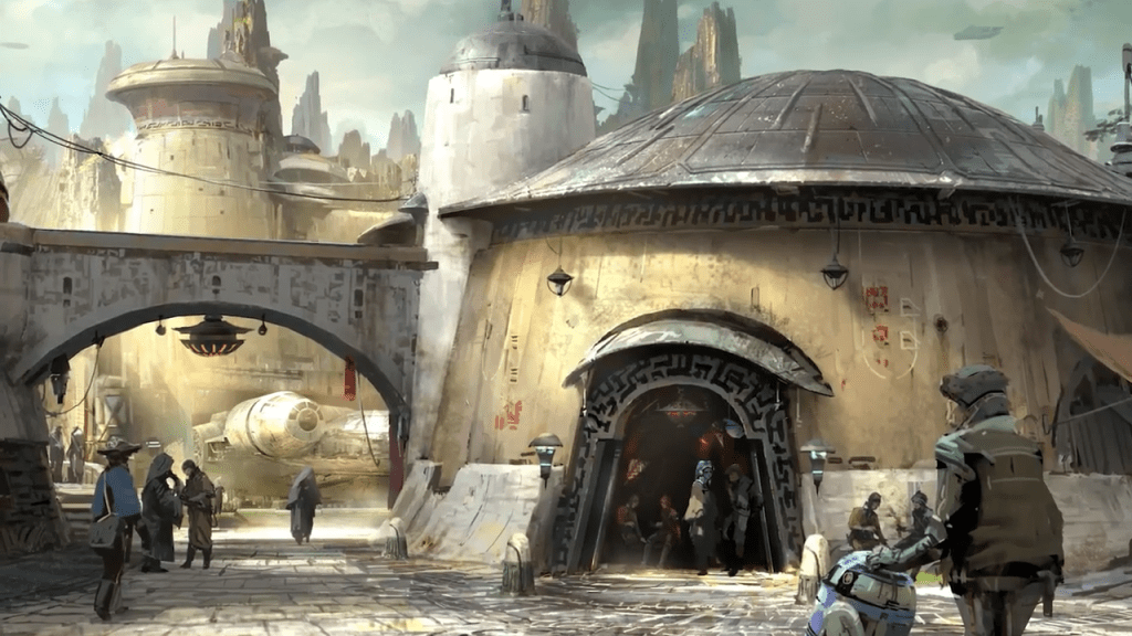 Star Wars Land concept artwork