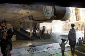 Star Wars Land concept artwork
