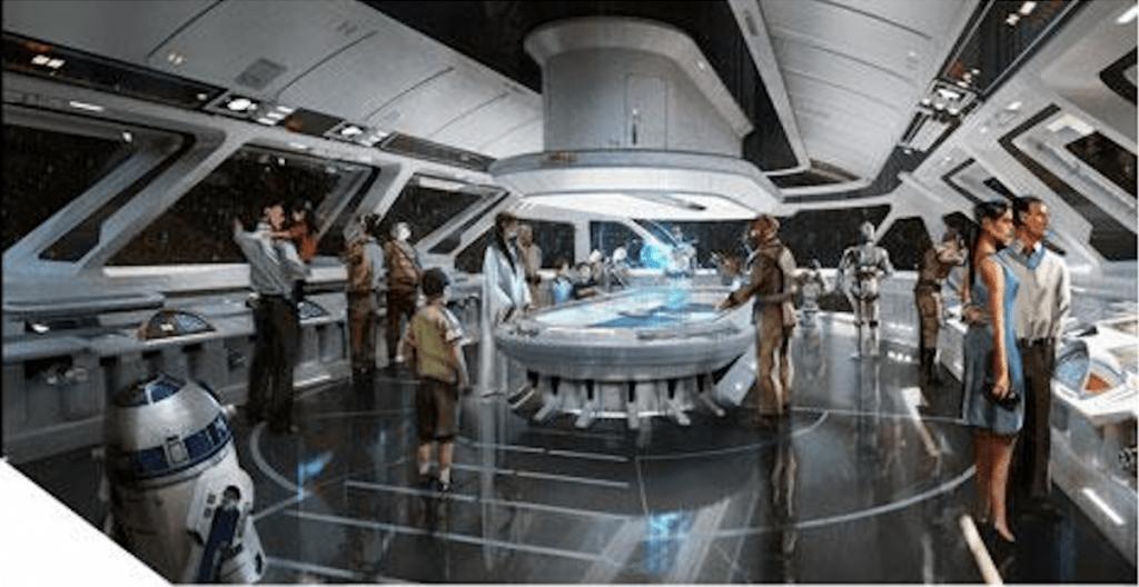 Star Wars hotel bridge
