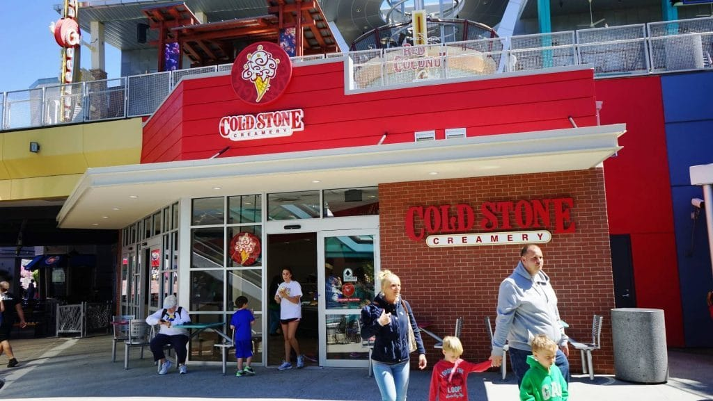 Cold Stone Creamery at Universal CityWalk