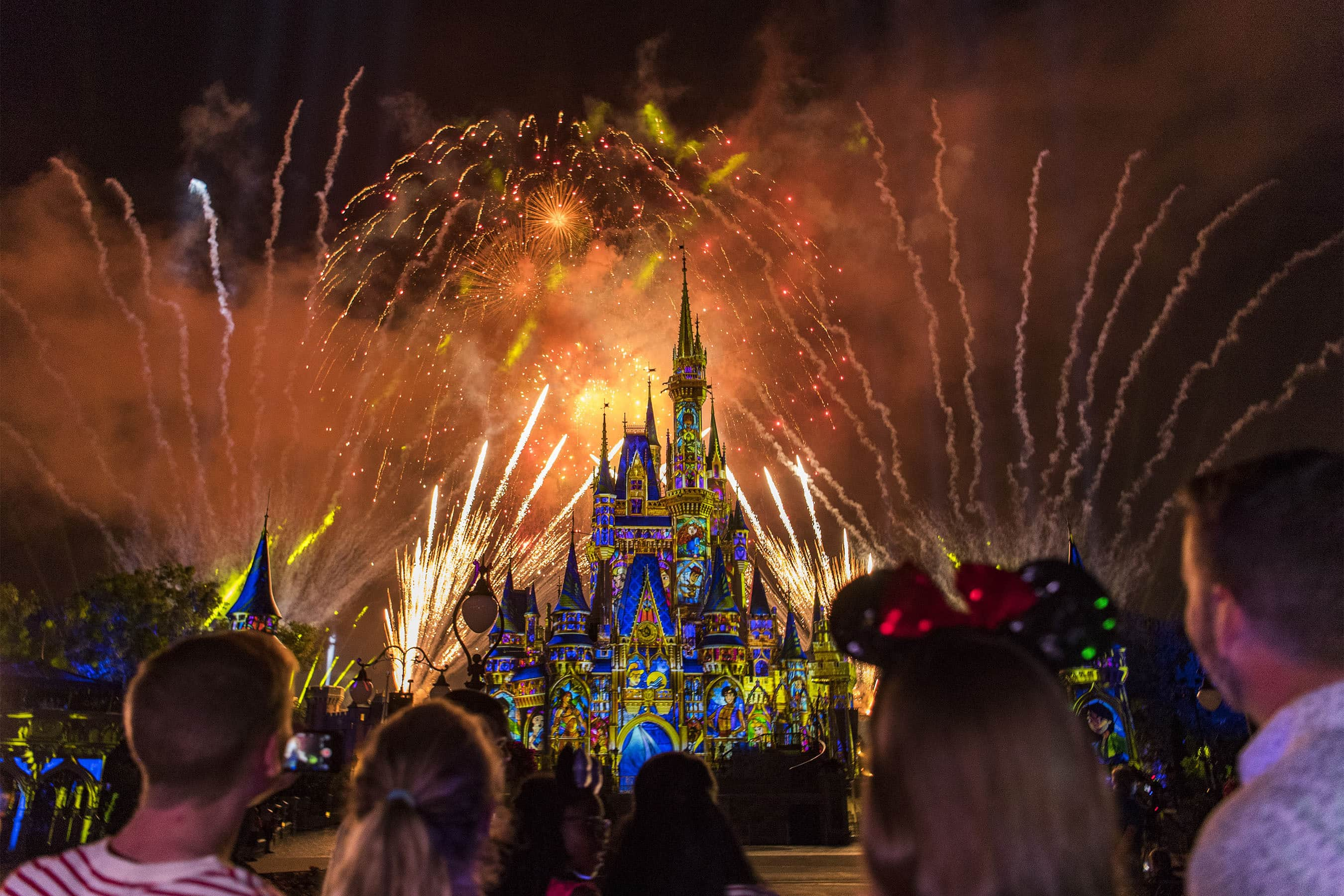 Image result for happily ever after magic kingdom show