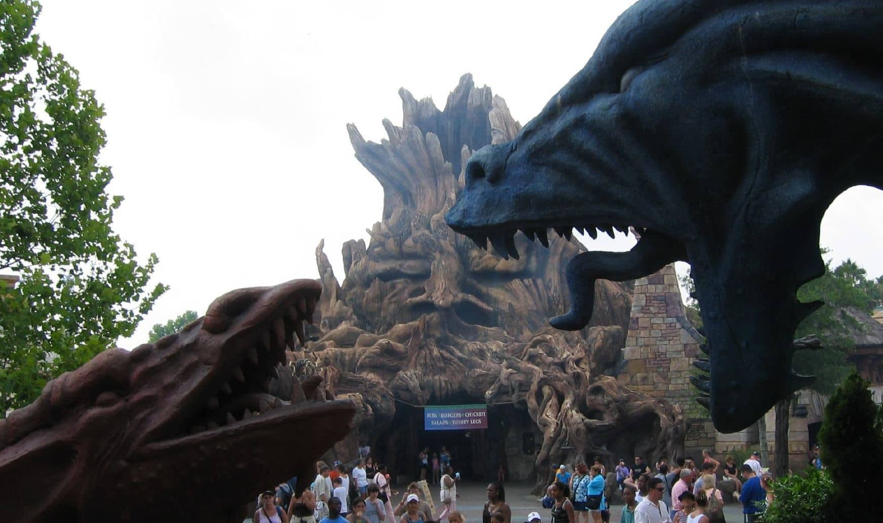 20 changes across Islands of Adventure's 20 years