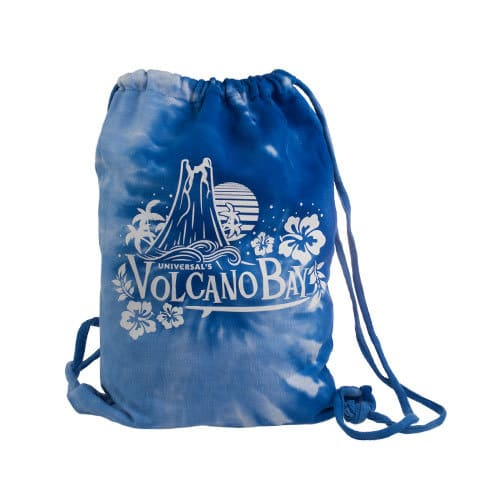 Drawstring Backpack ($24.95) - Universal's Volcano Bay merchandise