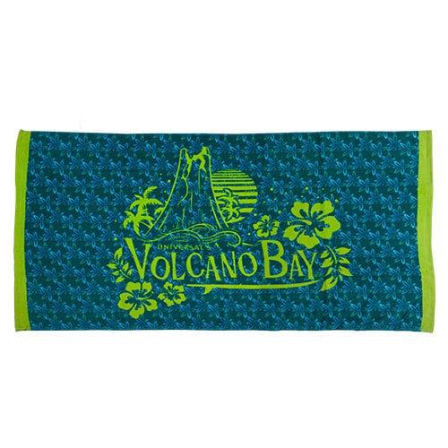 Floral beach towel - Universal's Volcano Bay merchandise - $24.95