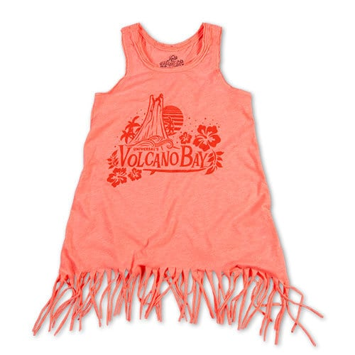Ladies' fringe cover-up - Universal's Volcano Bay merchandise - $34.95