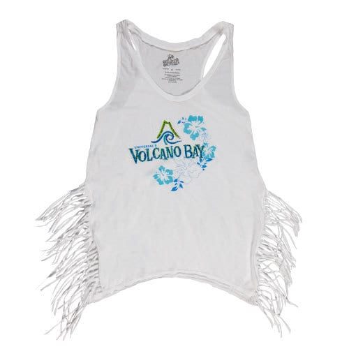 Ladies' fringe tank top - Universal's Volcano Bay merchandise - $34.95
