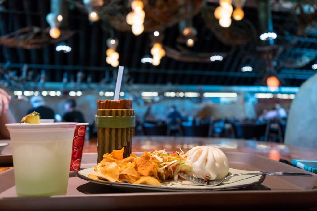 Meal at Satu'li Canteen in Pandora - The World of Avatar