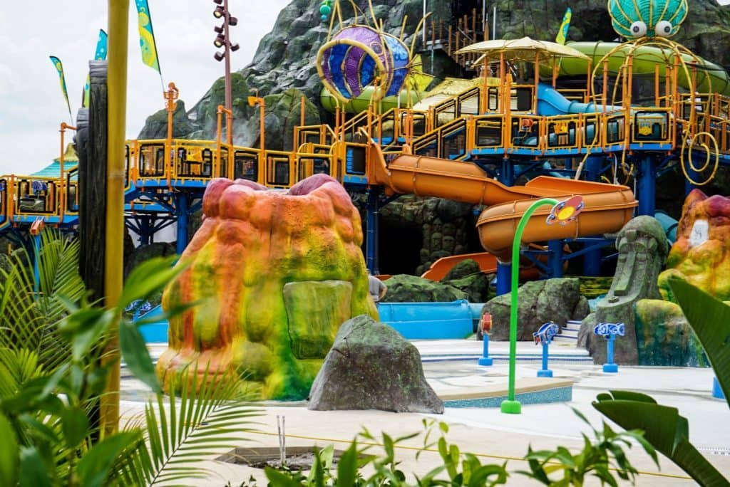More of Tot Tiki Reef at Universal's Volcano Bay
