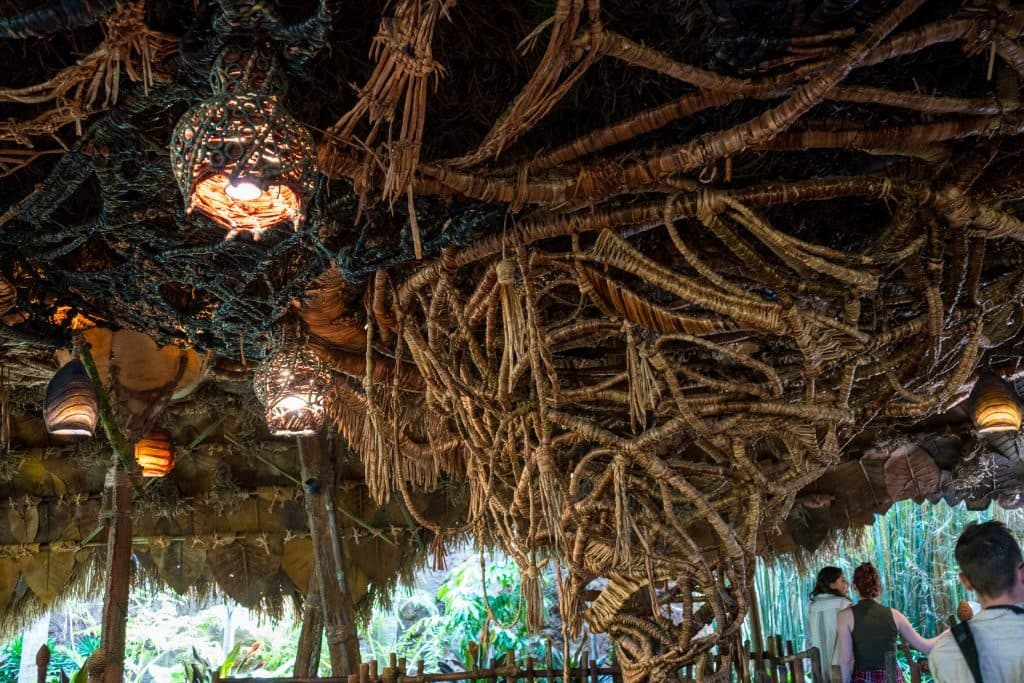 Na'vi River Journey's queue at Pandora: The World of Avatar at Disney's Animal Kingdom