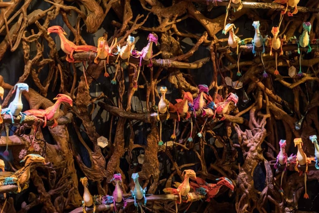 The banshee rookery at Windtraders in Pandora: The World of Avatar