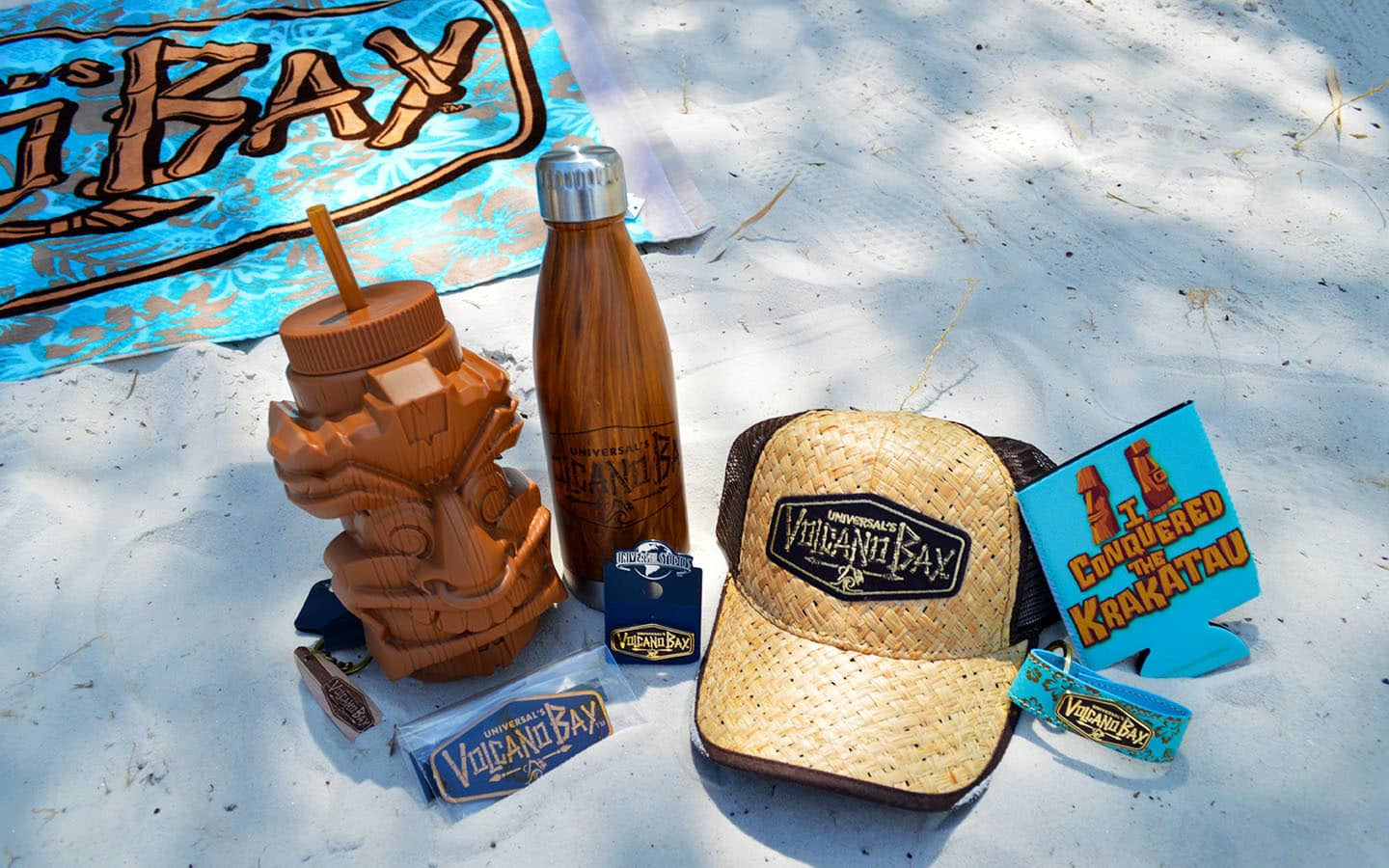 Volcano Bay merchandise revealed