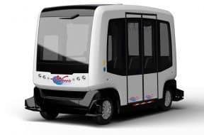 Wheels driverless shuttle