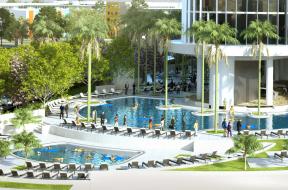 Pool at Universal's Aventura Hotel