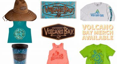 Universal's Volcano Bay Merchandise Available