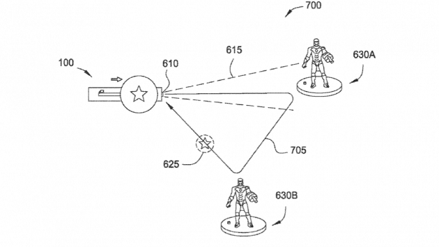 Captain America patent for Disneyland Resort