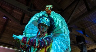 A performer at Caribbean Carnaval at Sapphire Falls Resort