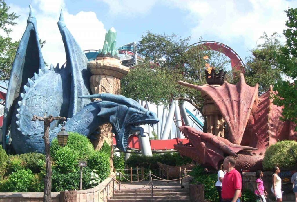 Dueling Dragons at Islands of Adventure