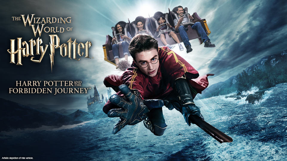 Harry Potter and the Forbidden Journey poster
