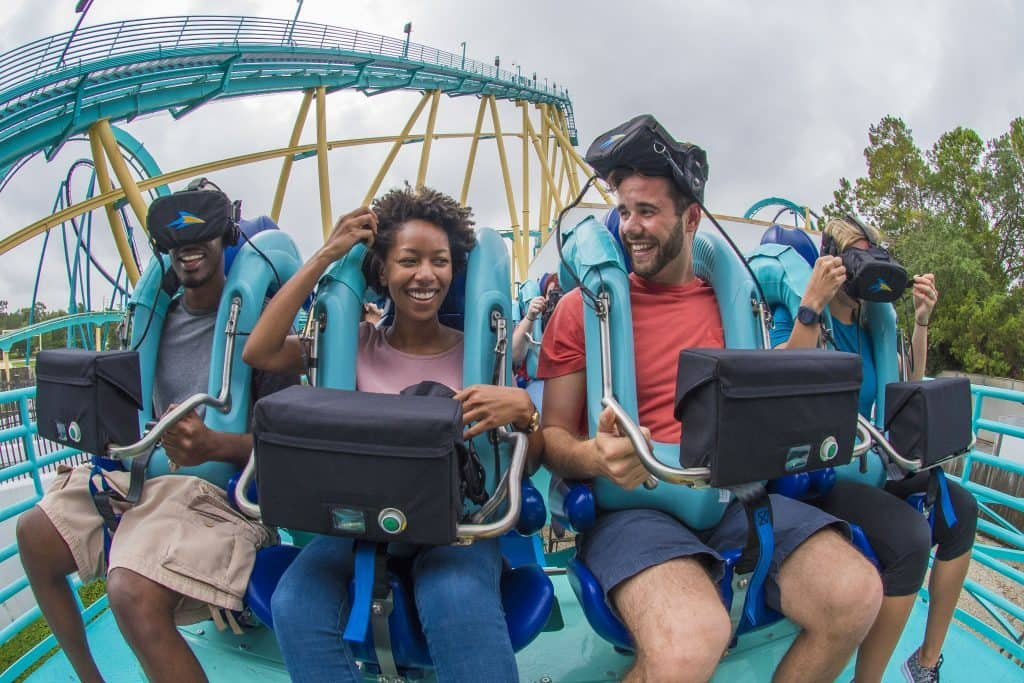 Kraken Unleashed at SeaWorld Orlando