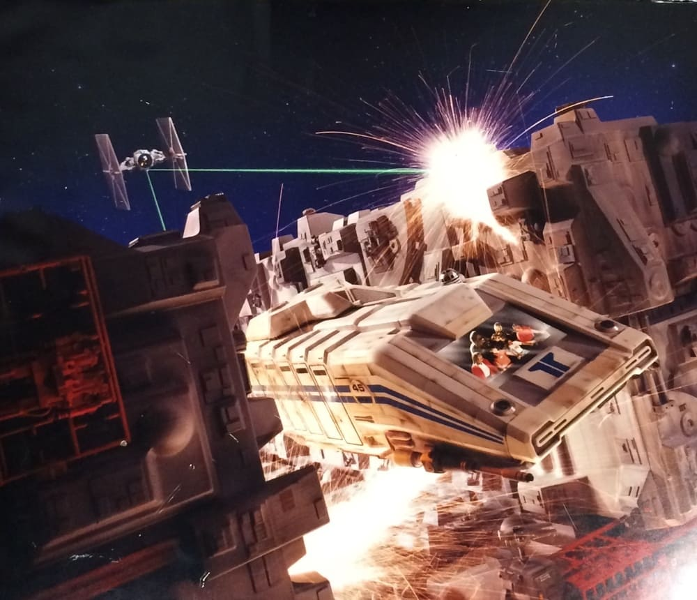 Original Star Tours poster at Disney's Hollywood Studios