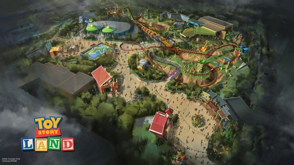 Toy Story Land at Disney's Hollywood Studios (original version)