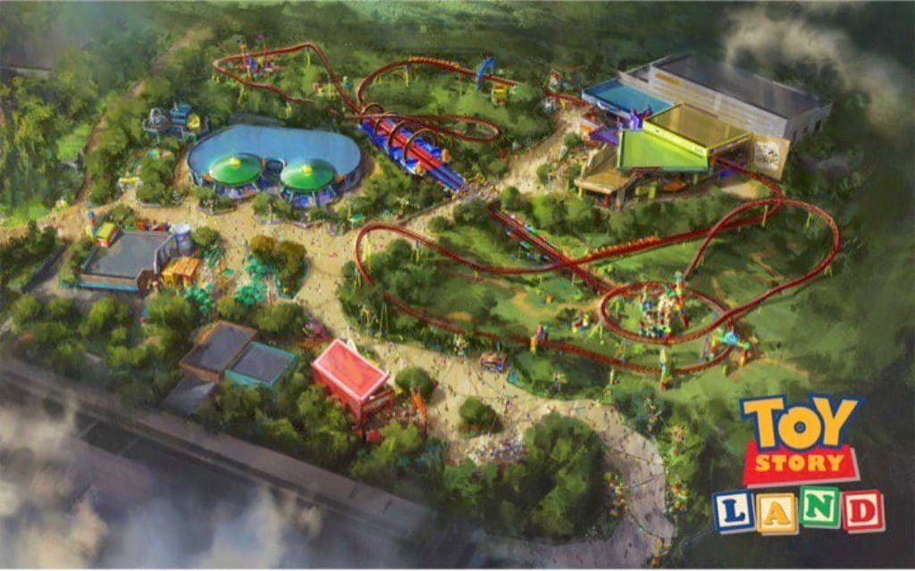 Toy Story Land at Disney's Hollywood Studios (revised version)