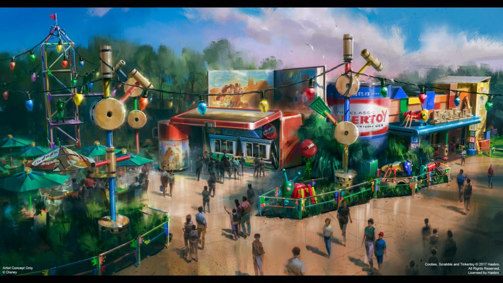Woody's Lunch Box at Toy Story Land at Disney's Hollywood Studios