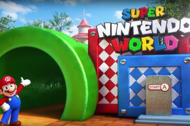 Entrance to Universal's Super Nintendo World