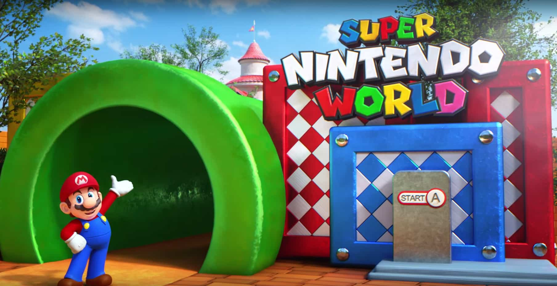 Mario Kart announced for Universal's Super Nintendo World