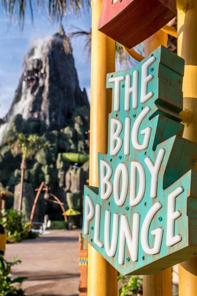 Ko'okiri Body Plunge entrance at Universal's Volcano Bay