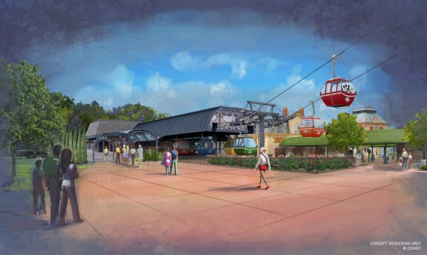 Disney Skyliner Epcot Station