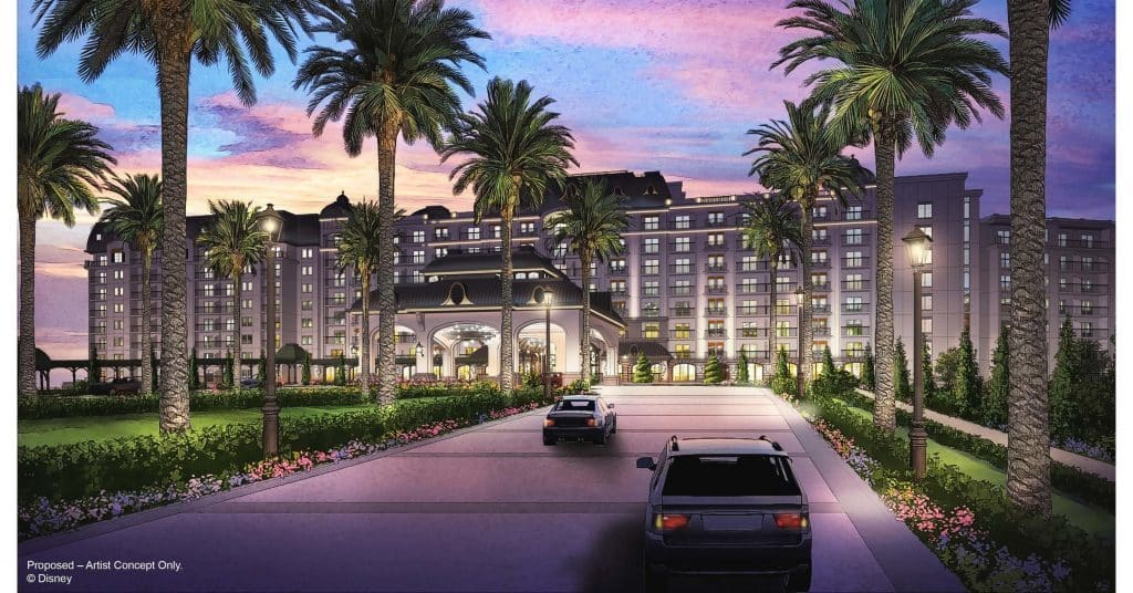 Disney's Riviera Resort concept art