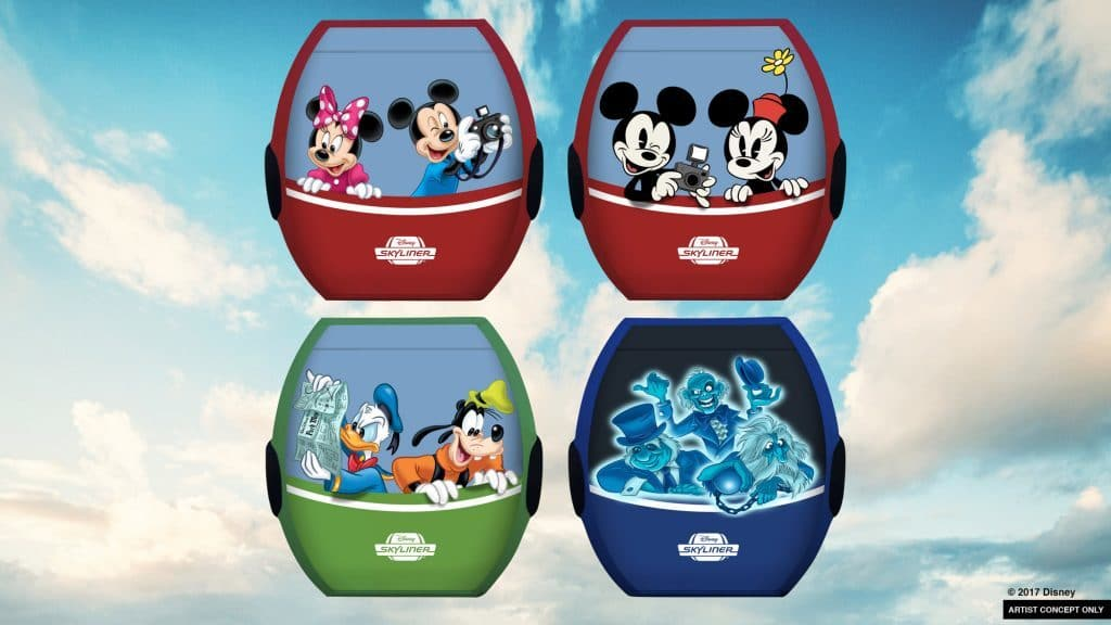Disney Skyliner coming to Disney World